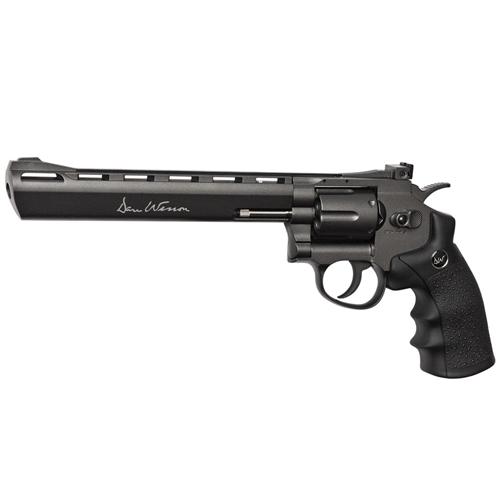 Dan Wesson 8 Inch Black Revolver - 6mm Airsoft