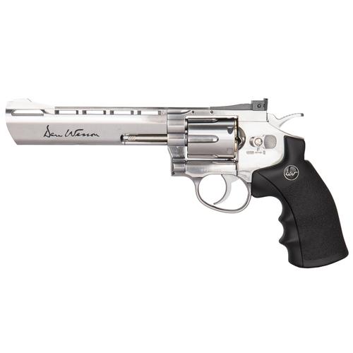 Dan Wesson 4.5mm 6 Inch Silver CO2 gun