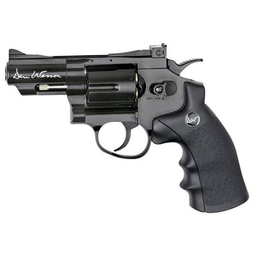 Dan Wesson Black Airsoft Revolver 2.5 Inch