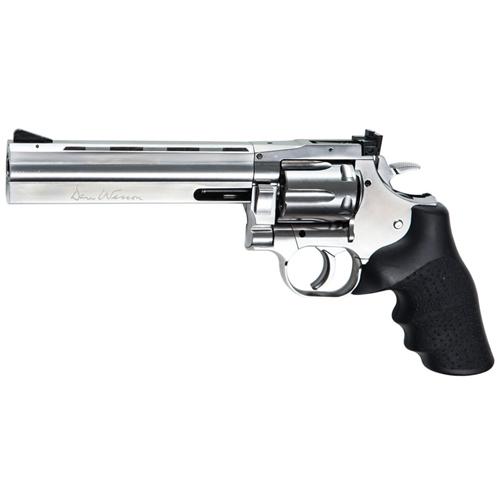 Dan Wesson 715 Silver BB Revolver 6 Inch