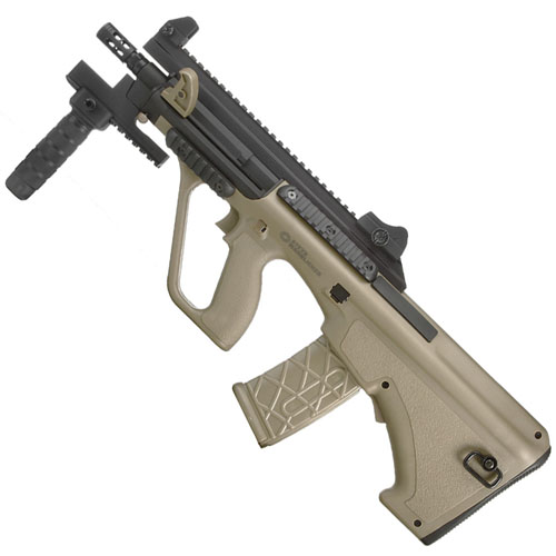 Steyr AUG A3 XS Commando Tan Airsoft Rifle