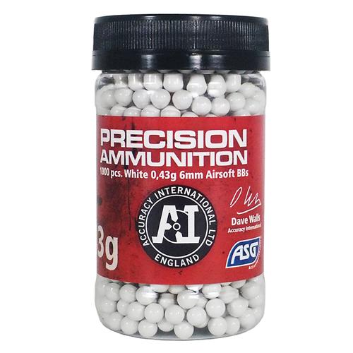 ASG Precision Ammunition Heavy Airsoft BBs - .43g