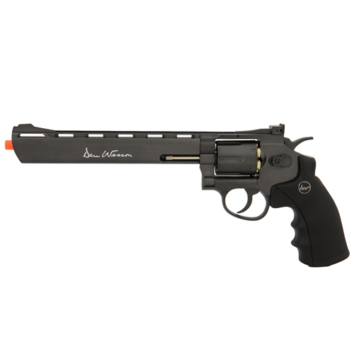 Dan Wesson 8 Inch CO2 Airsoft Revolver - 6 Rounds