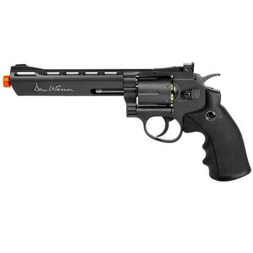 Dan Wesson 6 Grey CO2 Airsoft Revolver - US