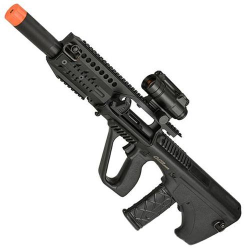 Steyr AUG A3 MP Airsoft Rifle - 394 FPS - Orange Tip - Orange Tip