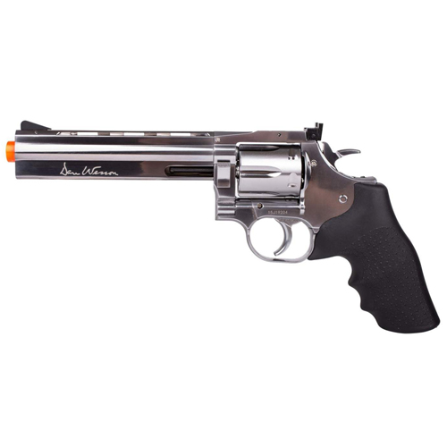 Dan Wesson 715 Silver CO2 Revolver 6 Inch (US)