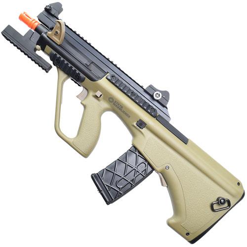 Steyr AUG A3 XS Commando Tan Airsoft Rifle (US)