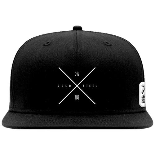Cold Steel Embroidered Hat - Black