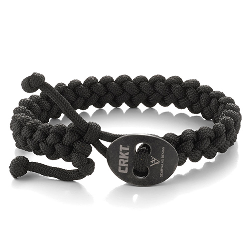 CRKT Quick Release Small Black Paracord Bracelet