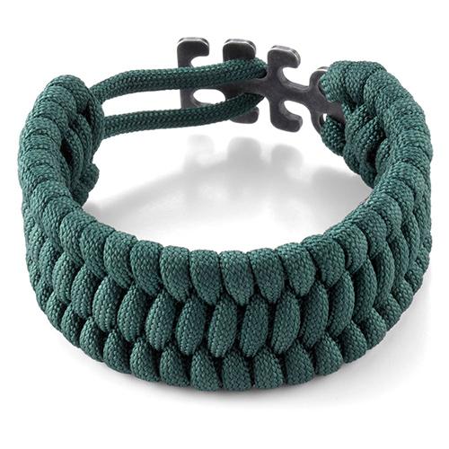 CRKT Adjustable Green Paracord Bracelet