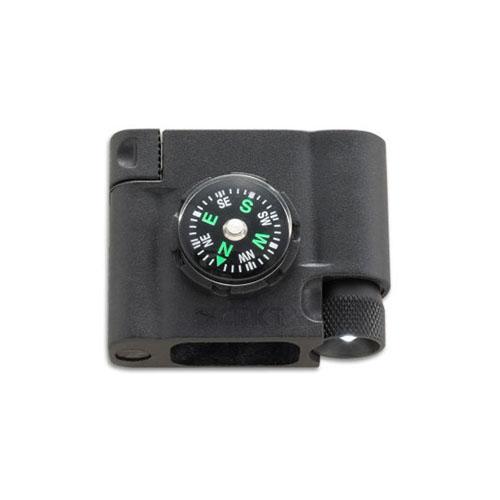 CRKT Survival Bracelet Accessory With Compass L.E.D. And Fire Starter