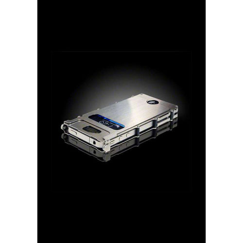 CRKT iNoxCase Stainless Steel iPhone 4 CaseSilver