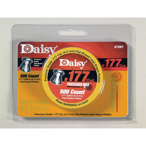 Daisy Flathead .177 cal 500 Count Airgun Pellets