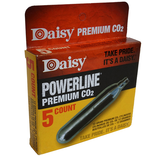 Daisy 5pcs PowerLine CO2 Cylinders