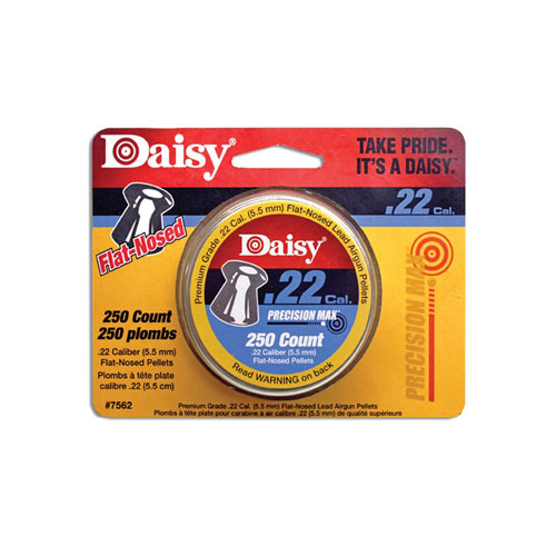 Daisy 250 Count .22 Cal. Flat Nosed Pellets