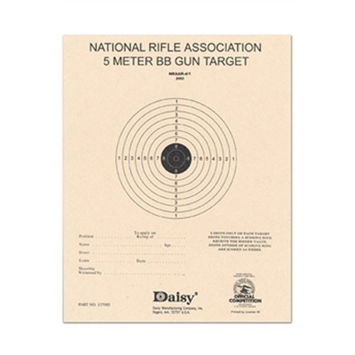 Daisy Official NRA 5-Meter BB Target