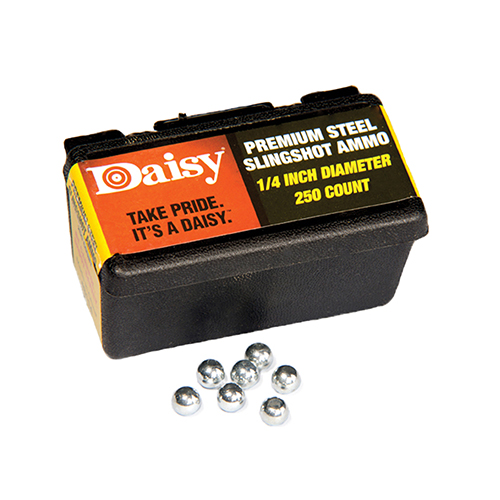 Daisy PowerLine 1/4-inch Steel Slingshot Ammo