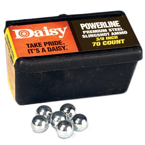Daisy PowerLine 3/8-inch Steel Slingshot Ammo