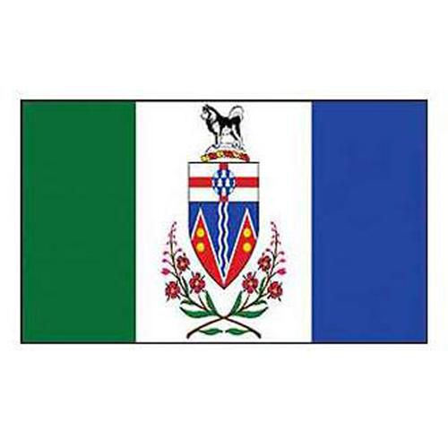 Flag-Canada Yukon