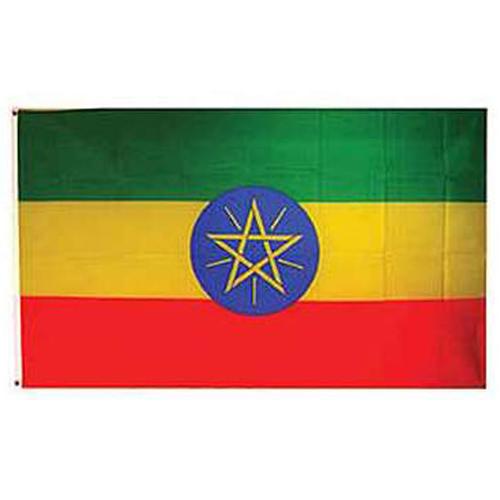 Flag-Ethiopia Star