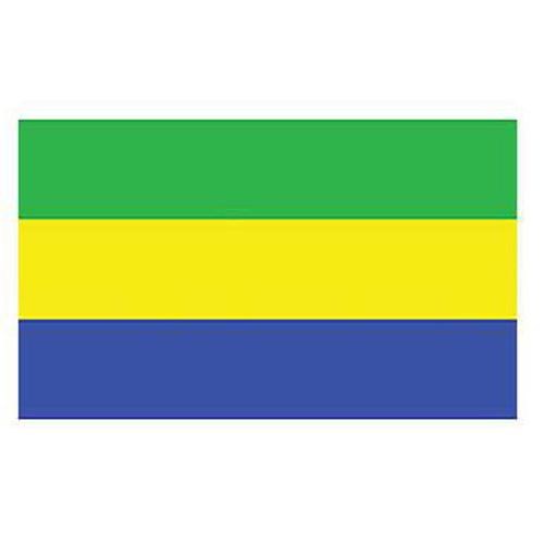 Flag-Gabon