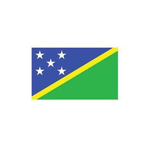Flag-Solomon Island