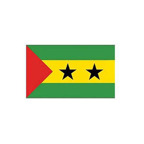 Flag-Sao Tome And Principe