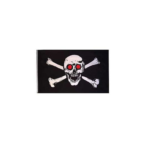 Flag-Pirate Red Eyes