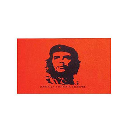 Flag 3ftx5ft Che Guevara Red