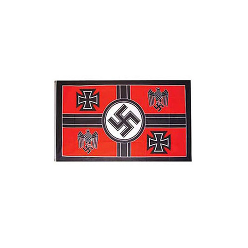 Flag 3ftx5ft WWII Germ Crosss EGL