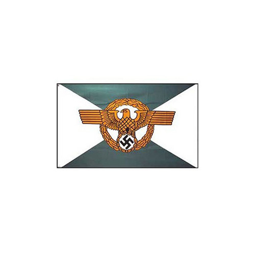 Flag 3ftx5ft WWII Germ Police
