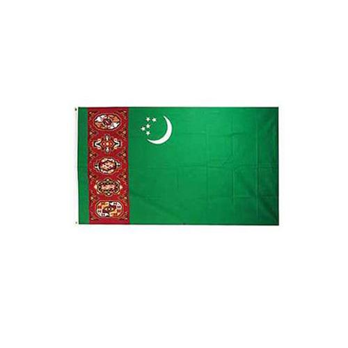 Flag-Turkmenistan