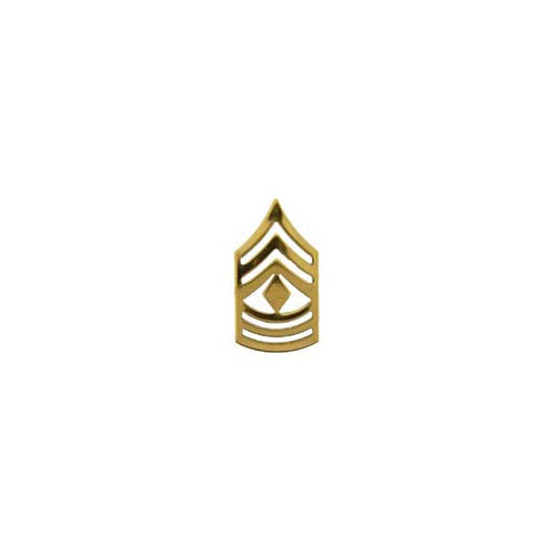 E8 1st Sgt 1 Inch Gold Army Rank