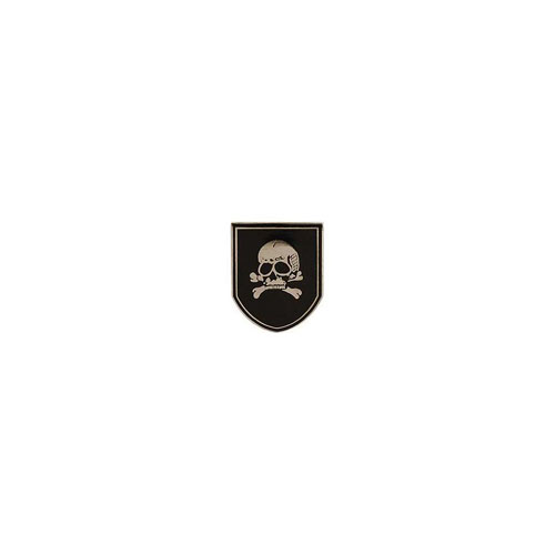 Pin Germ SS Skull And Bones Sheild