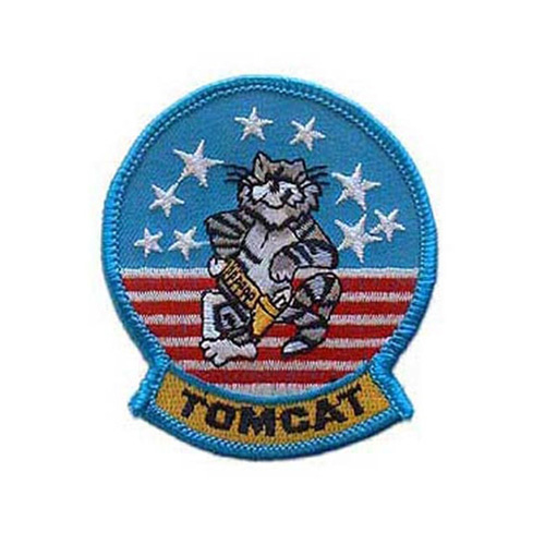 Usn Tomcat 3-3/8 Inch Patch