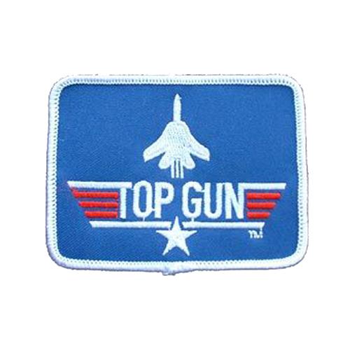 Top Gun Rect 3 Inch Usn Patch