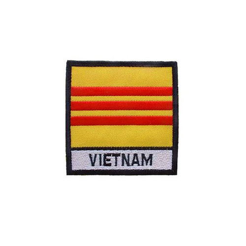 Patch Vietnam Flag With Tab