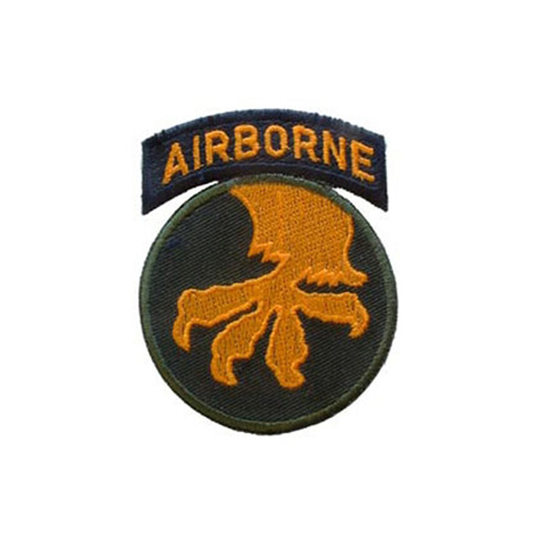 Patch Army 017th A/B Div. 3 Inch