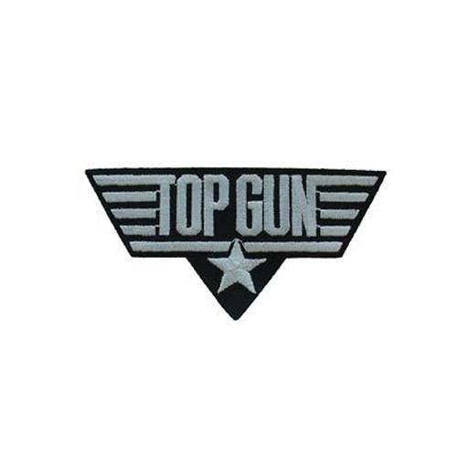 Top White 3 Inch Usn Gun Patch