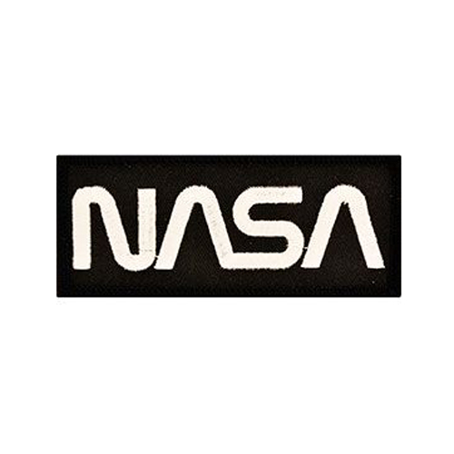 Patch Space Nasa Gold