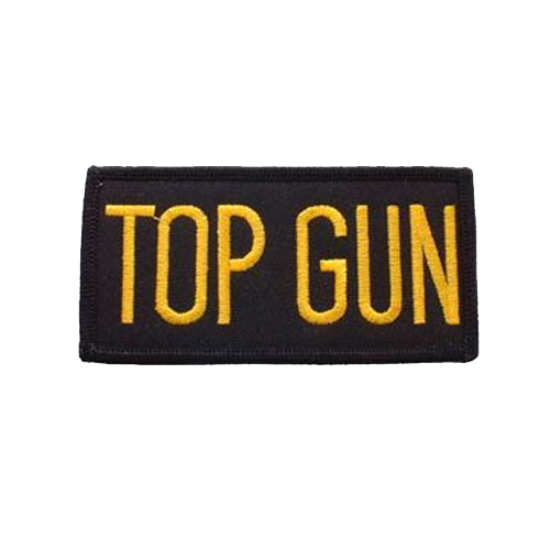Usn Tab Top Gun 4 Inch Patch