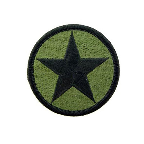 Patch 3 Inch Army Opfor-Star Subdued