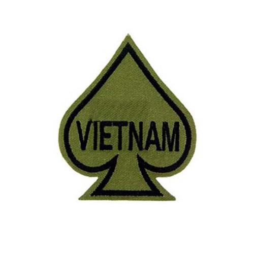 Patch Vietnam Spade Subdued