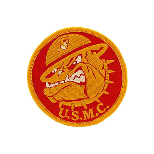3 Inch USMC Bulldog Patch