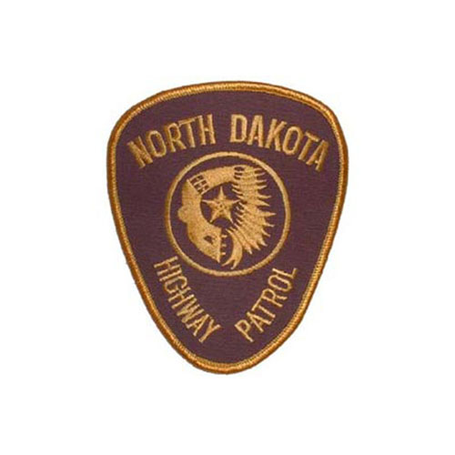3 Inch Pol North Dakota Patch