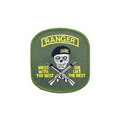 Patch Army Mess With Best Ranger