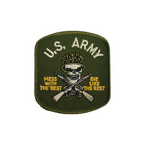 Patch Army Mess With Best Green