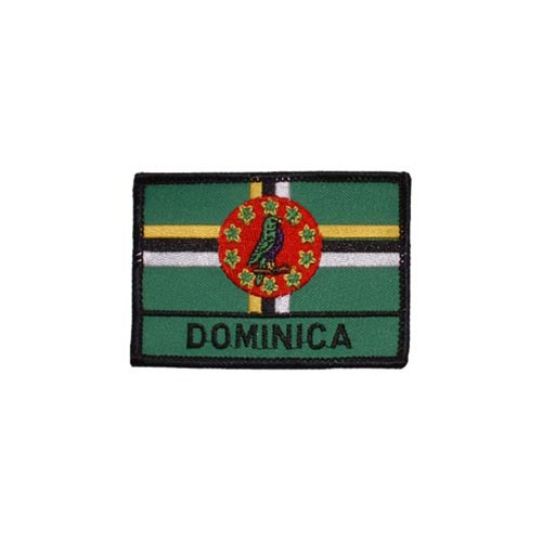 Patch-Dominica Rectangle
