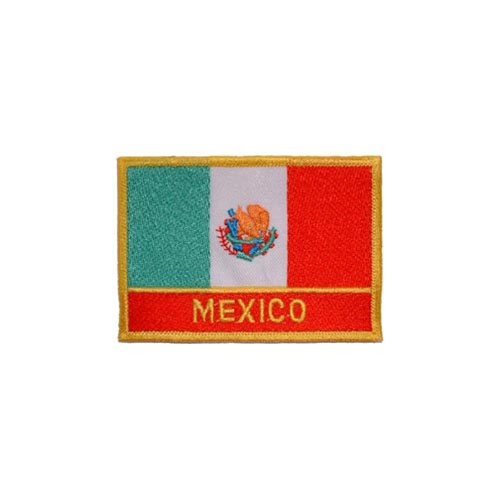 Patch-Mexico Rectangle