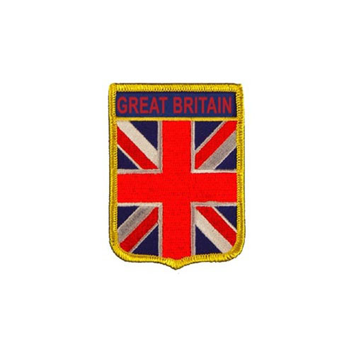 Patch-Great Britain Shield